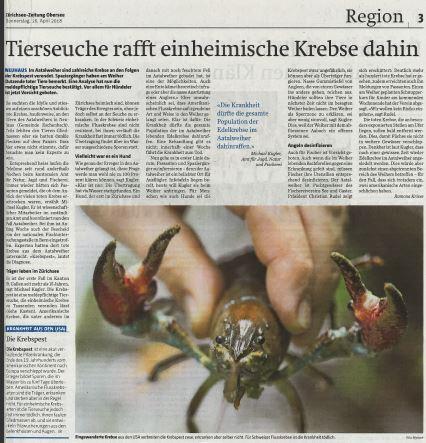 Zürichsee Zeitung 26.4.2018